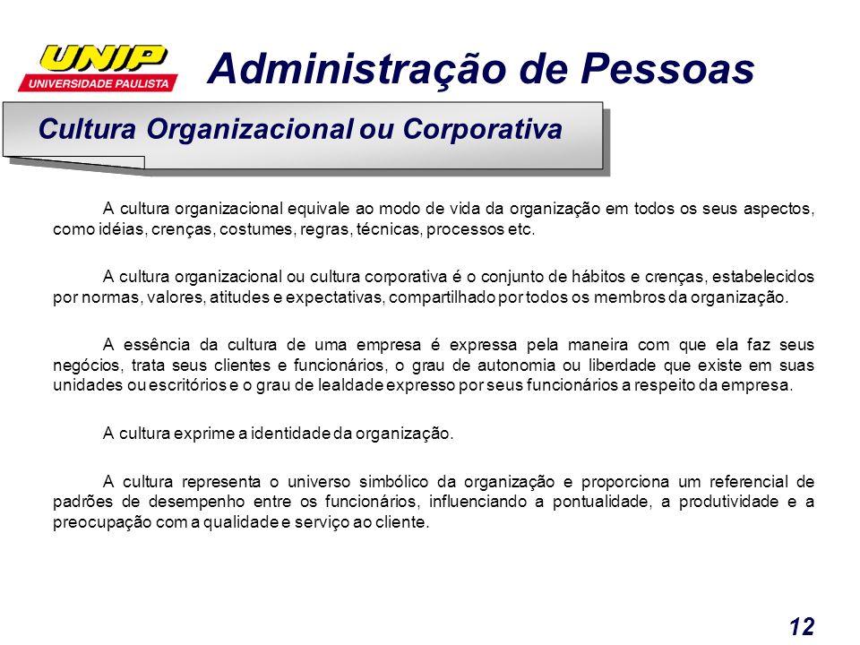 Cultura Organizacional ou Corporativa