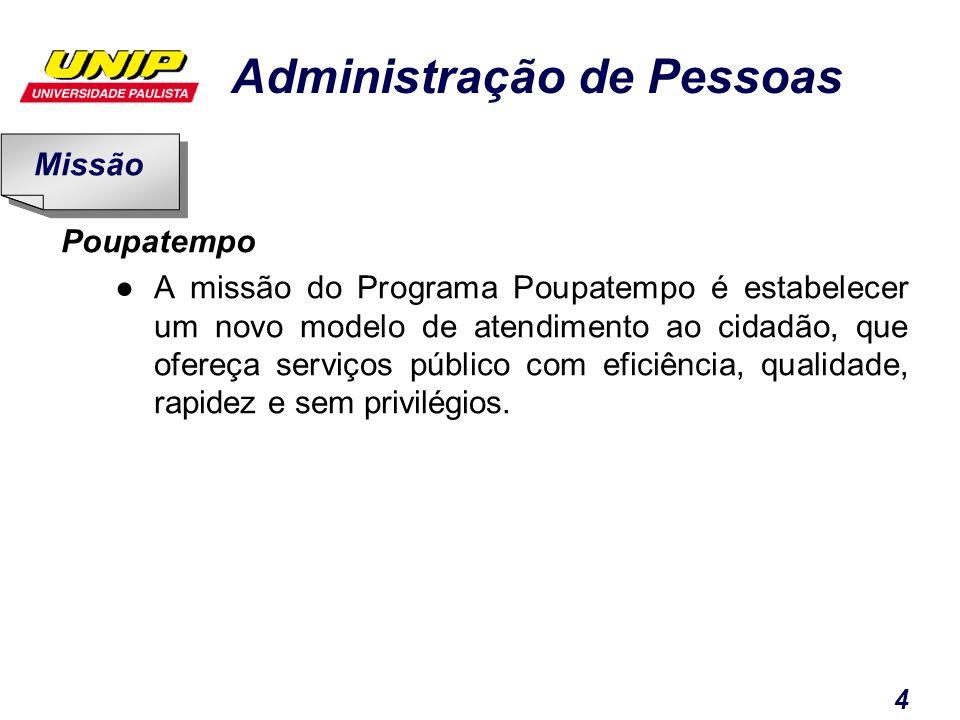 Missão Poupatempo.