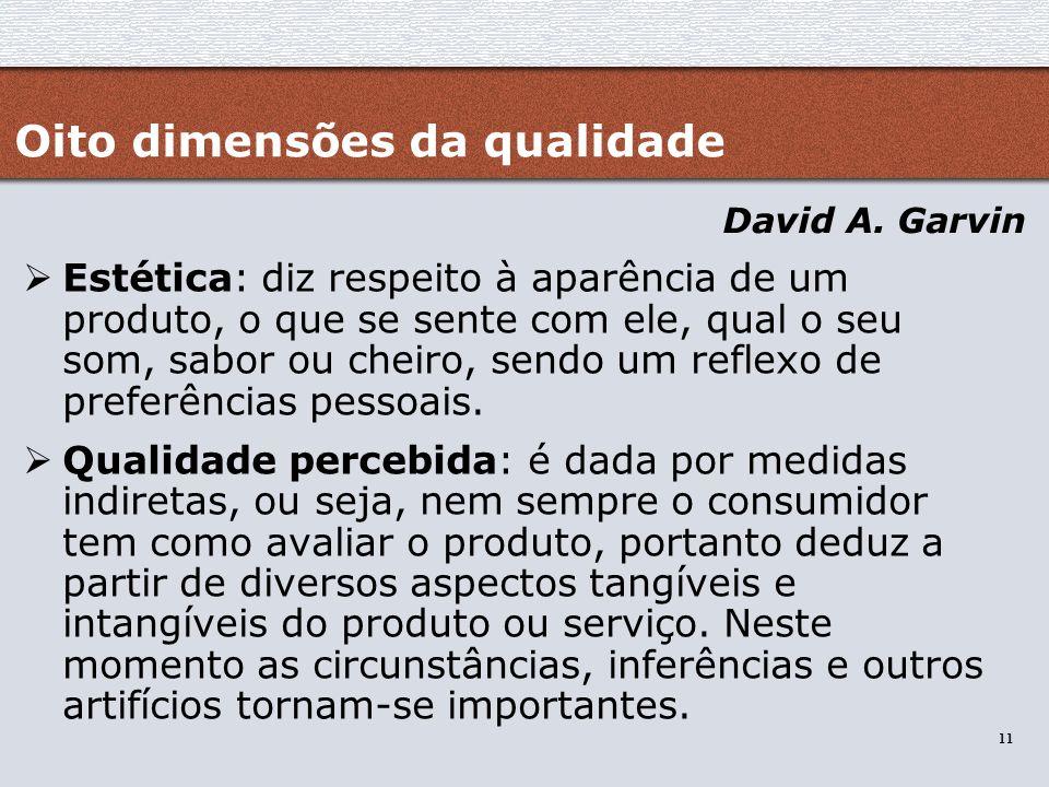 Oito dimensões da qualidade