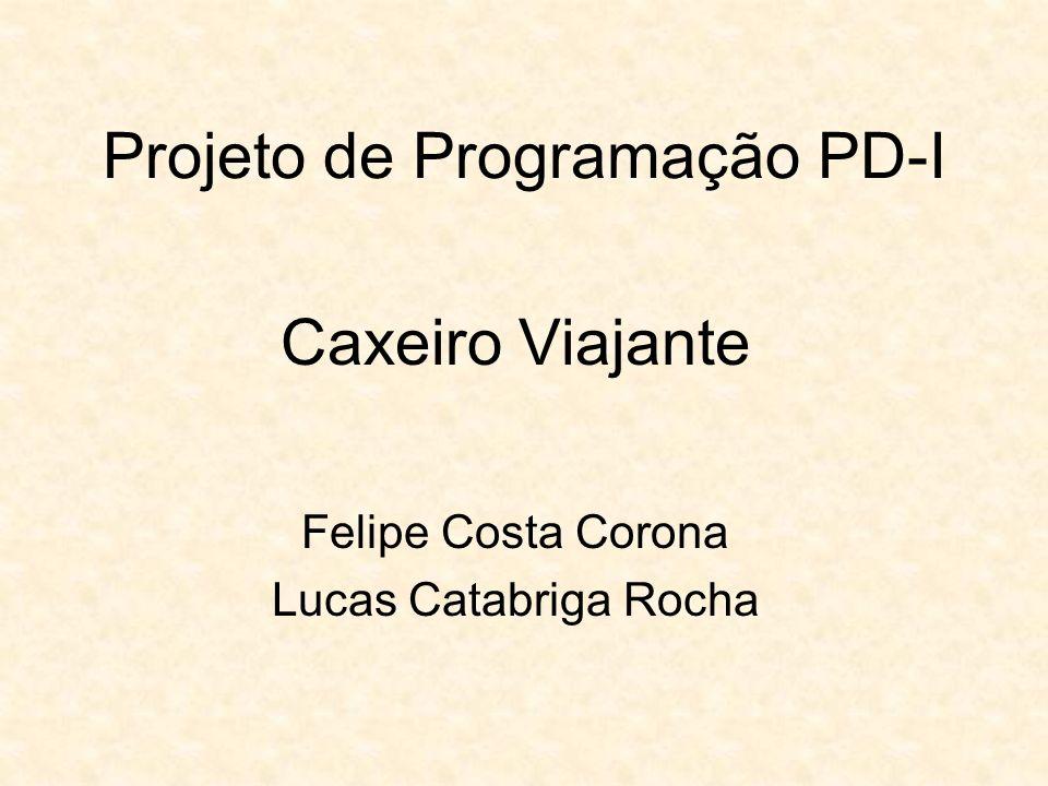 Projeto de Programação PD-I