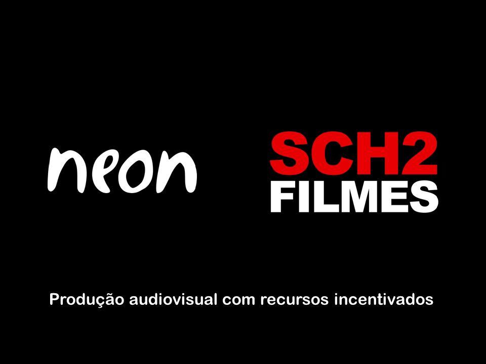 Produção audiovisual com recursos incentivados