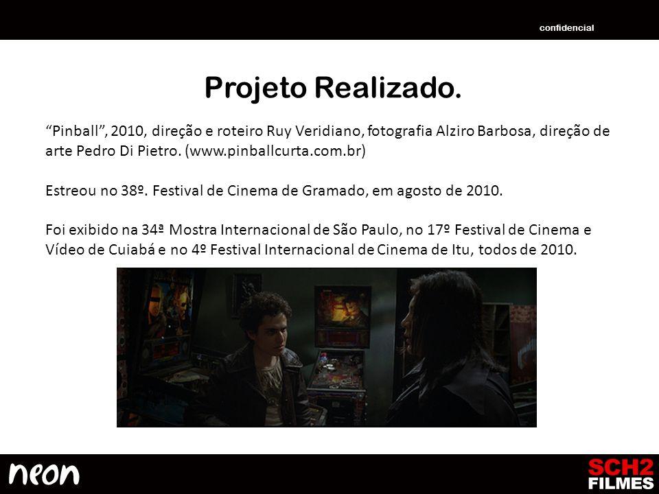confidencial Projeto Realizado.
