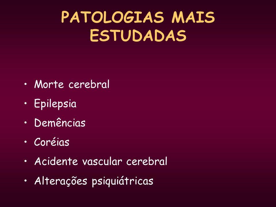PATOLOGIAS MAIS ESTUDADAS