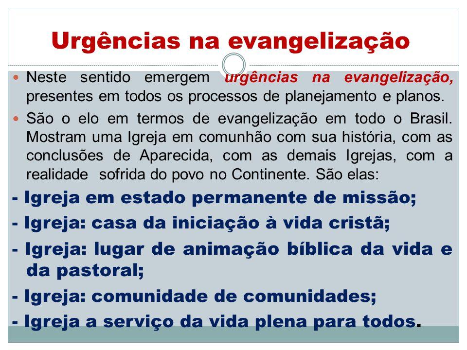 Urgências na evangelização