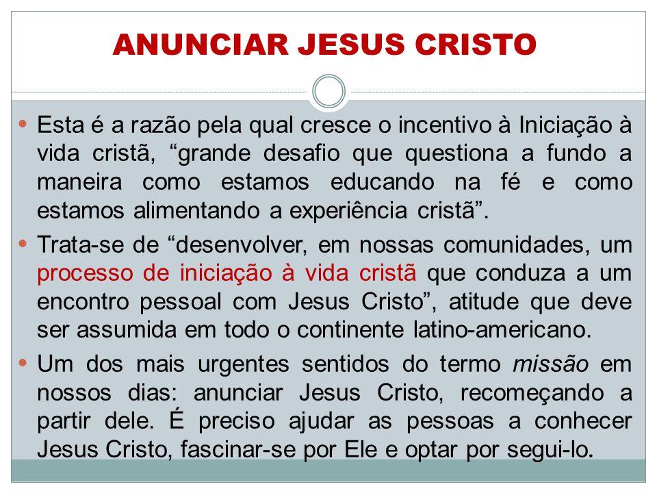 ANUNCIAR JESUS CRISTO