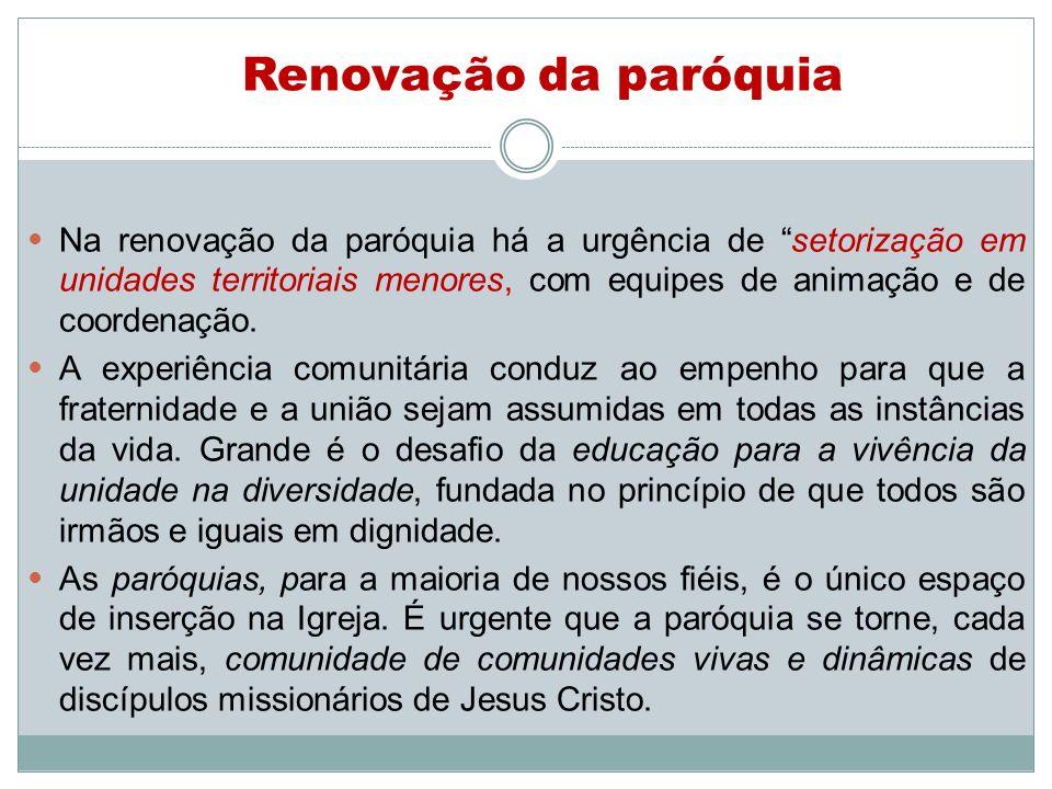 Renovação da paróquia