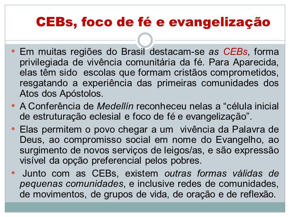 CEBs, foco de fé e evangelização