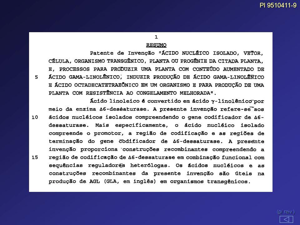 PI 9510411-9 (p/ reiv.)