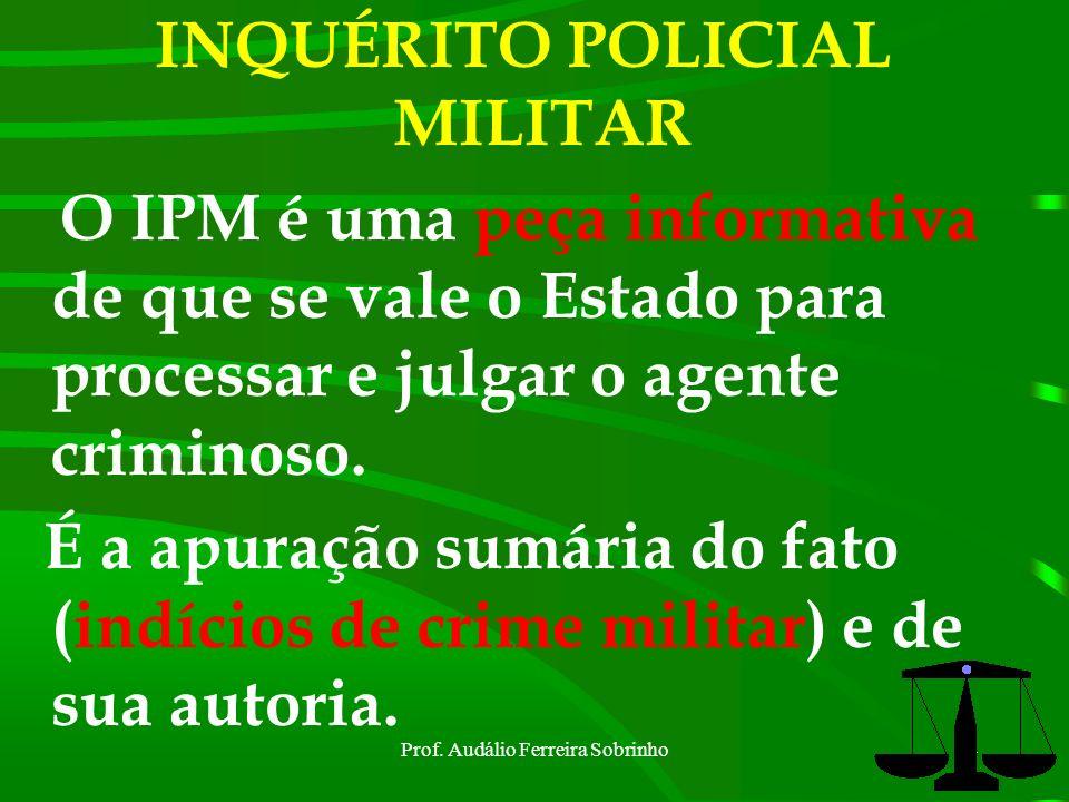 INQUÉRITO POLICIAL MILITAR