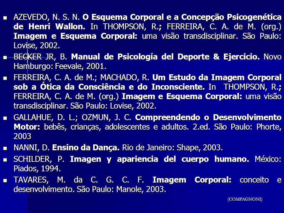 NANNI, D. Ensino da Dança. Rio de Janeiro: Shape, 2003.
