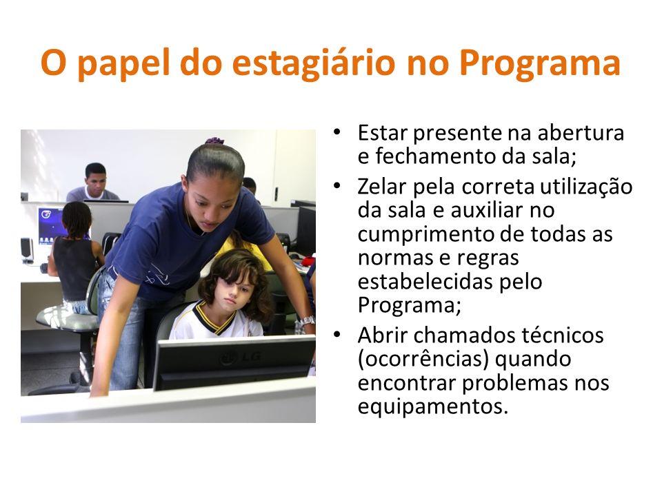 O papel do estagiário no Programa