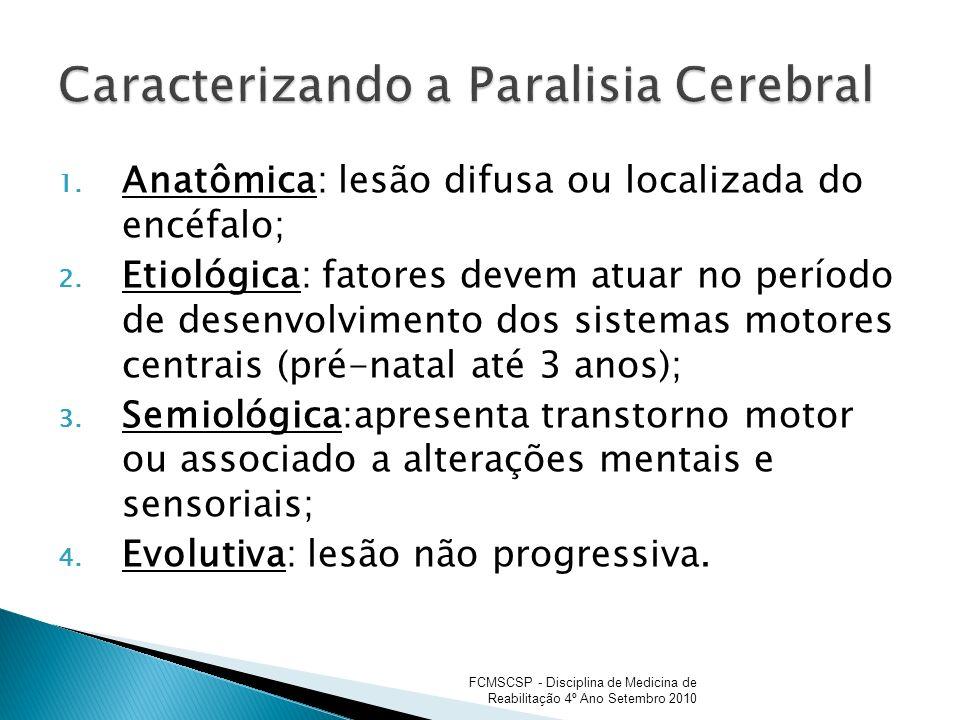 Caracterizando a Paralisia Cerebral