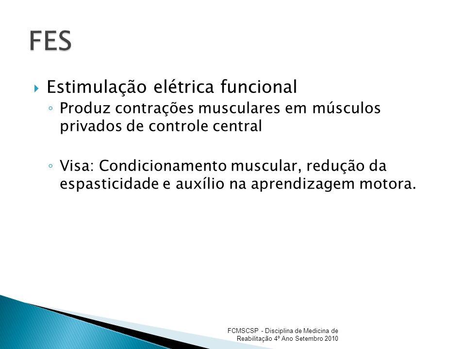 FES Estimulação elétrica funcional