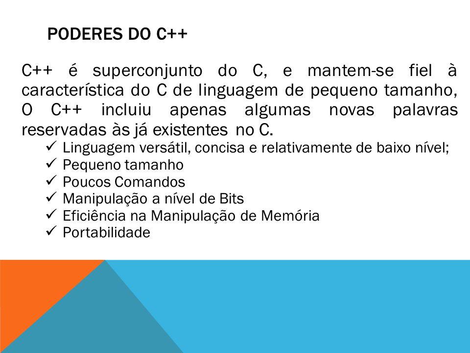 Poderes do c++