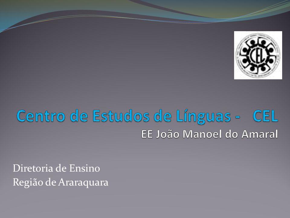 Centro de Estudos de Línguas - CEL EE João Manoel do Amaral