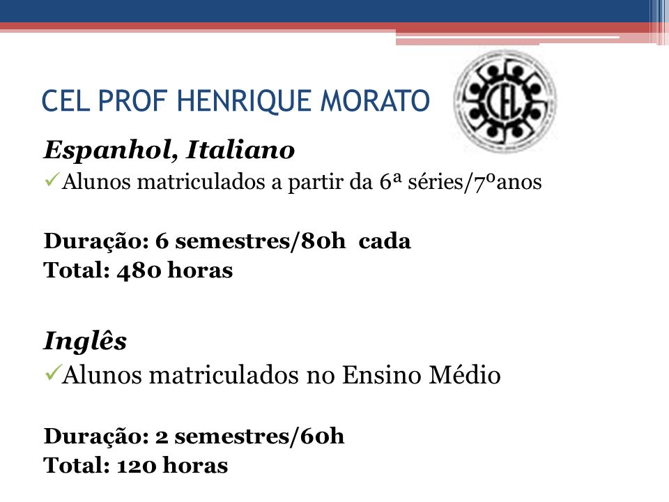 CEL PROF HENRIQUE MORATO