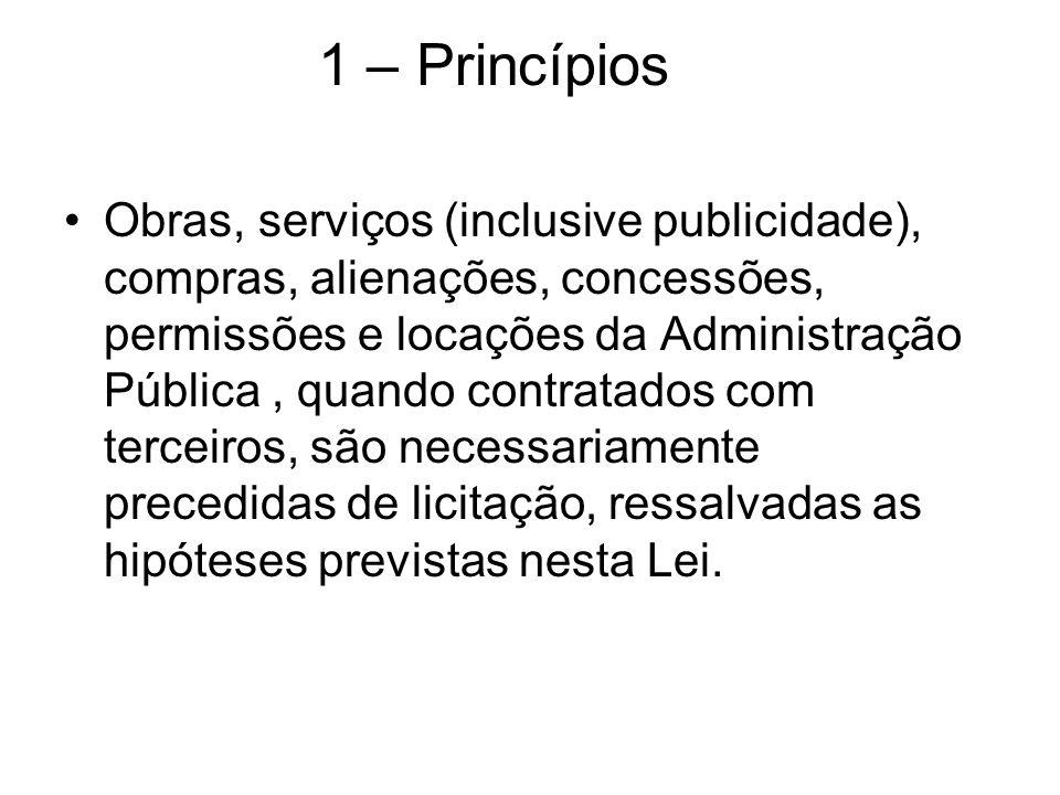 1 – Princípios