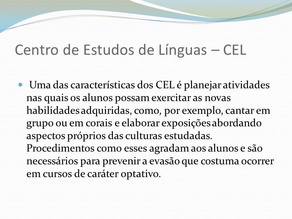 Centro de Estudos de Línguas – CEL