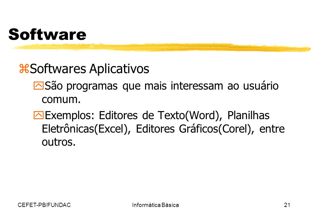 Software Softwares Aplicativos
