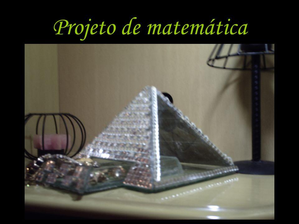 Projeto de matemática