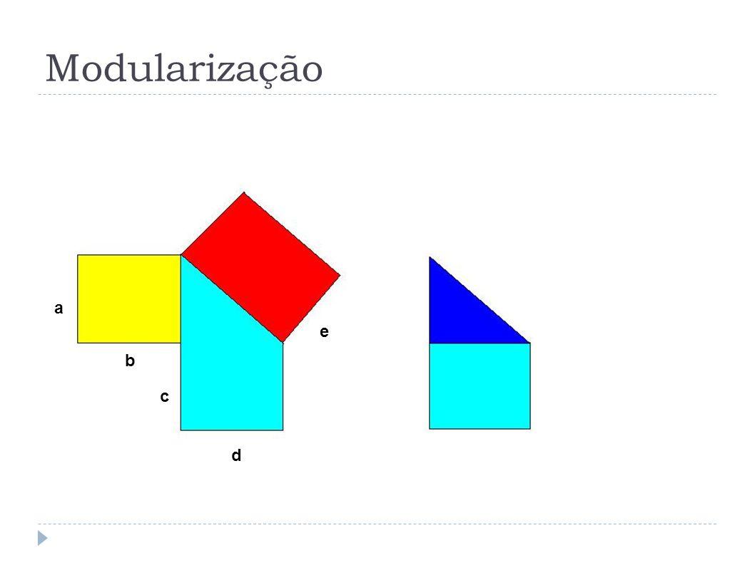 Modularização a b c d e 14