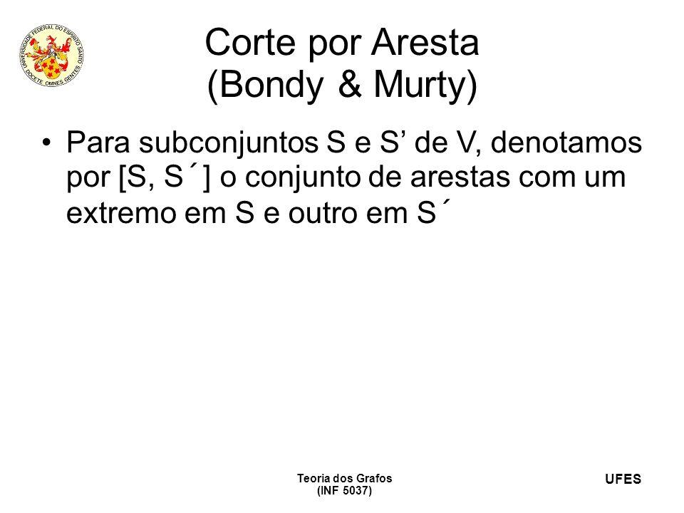 Corte por Aresta (Bondy & Murty)