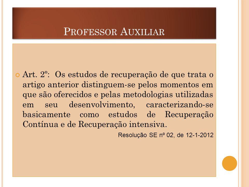 Professor Auxiliar