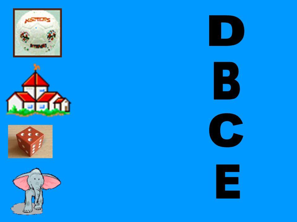 D B C E