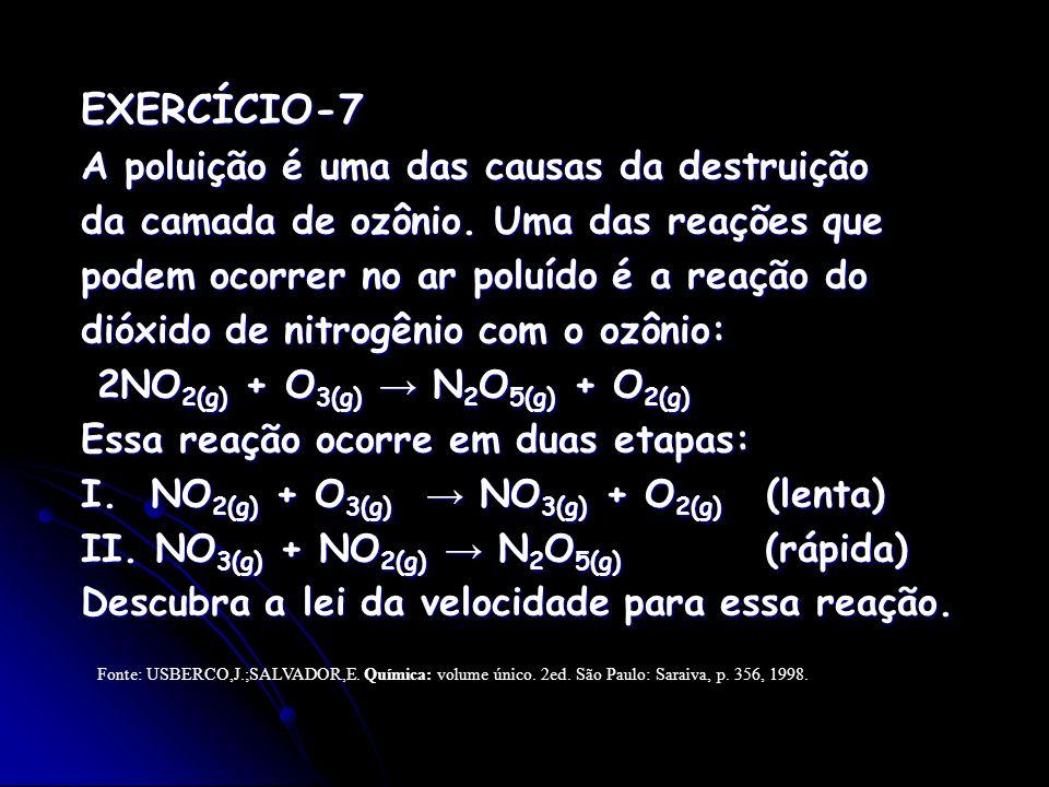 EXERCÍCIO-7 A poluição é uma das causas da destruição