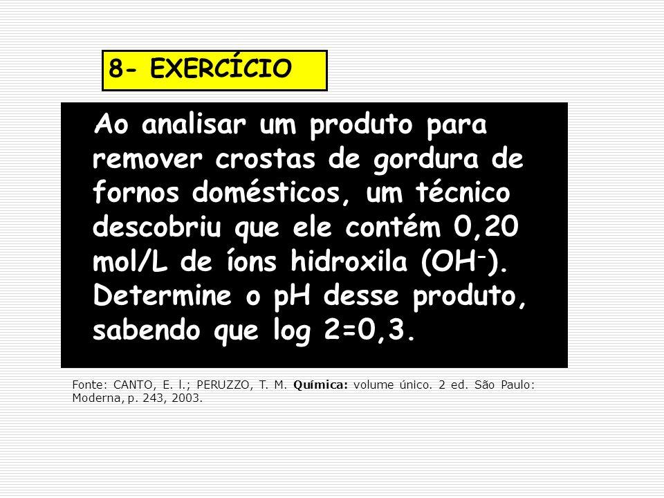 8- EXERCÍCIO