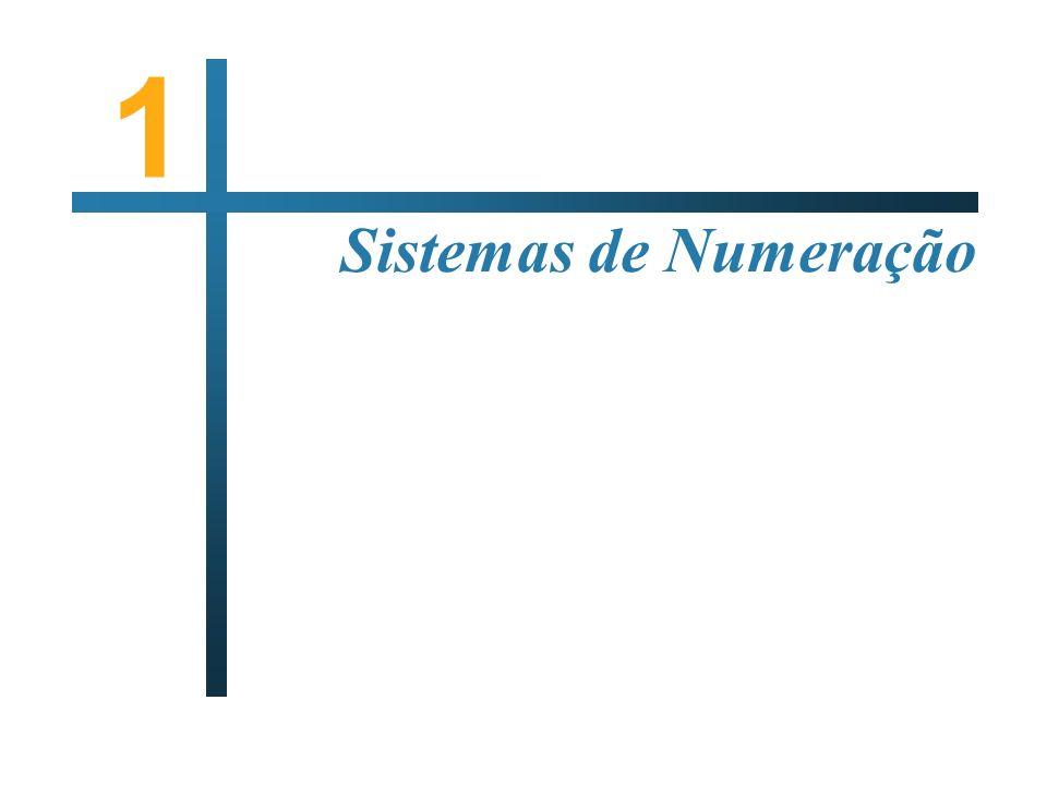 1 Sistemas de Numeração