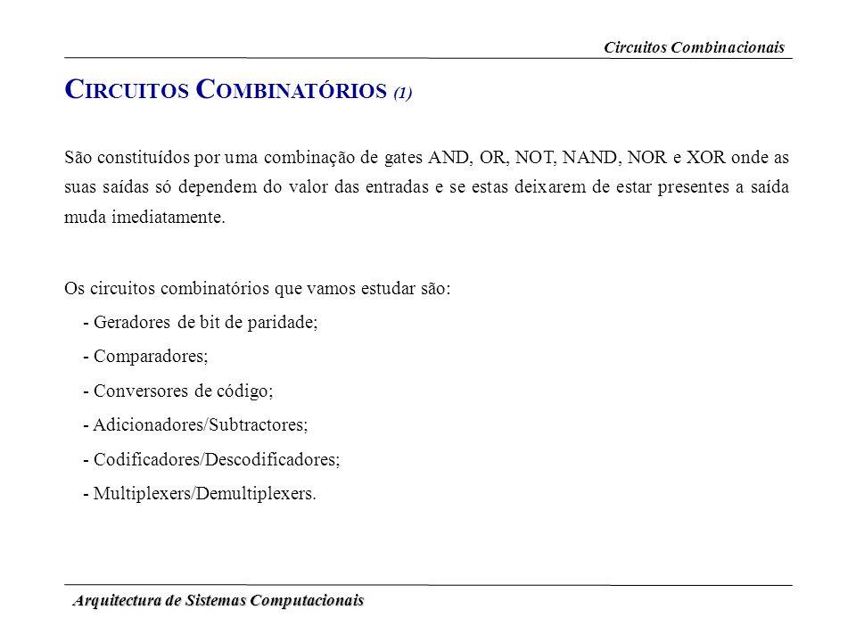CIRCUITOS COMBINATÓRIOS (1)