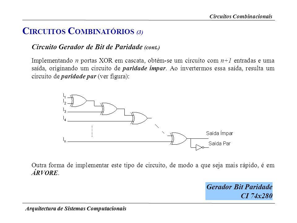 CIRCUITOS COMBINATÓRIOS (3)