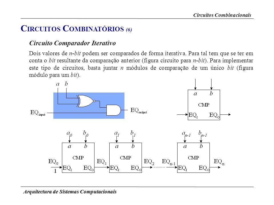 CIRCUITOS COMBINATÓRIOS (6)