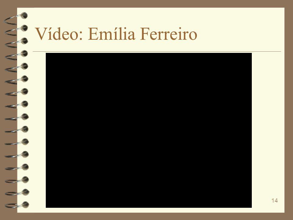 Vídeo: Emília Ferreiro