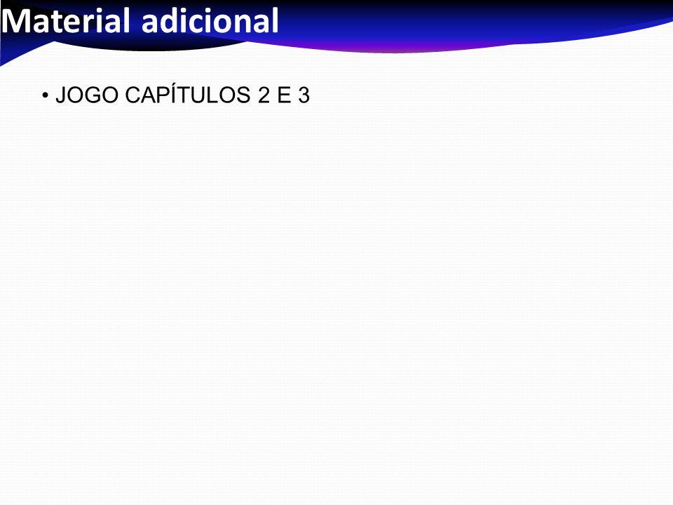 Material adicional JOGO CAPÍTULOS 2 E 3