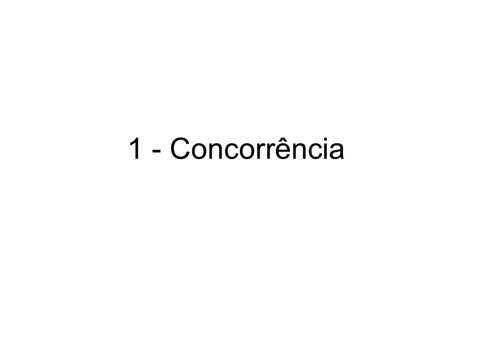 1 - Concorrência