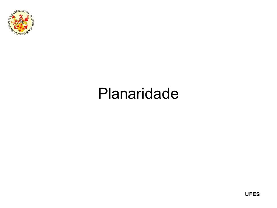 Planaridade 1