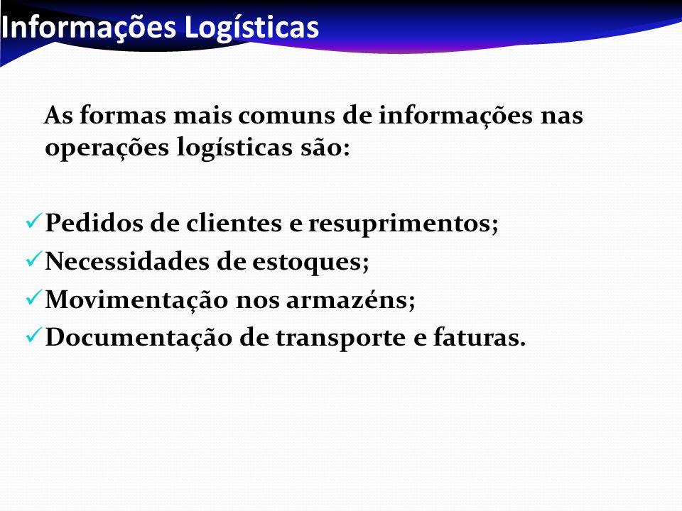 Informações Logísticas