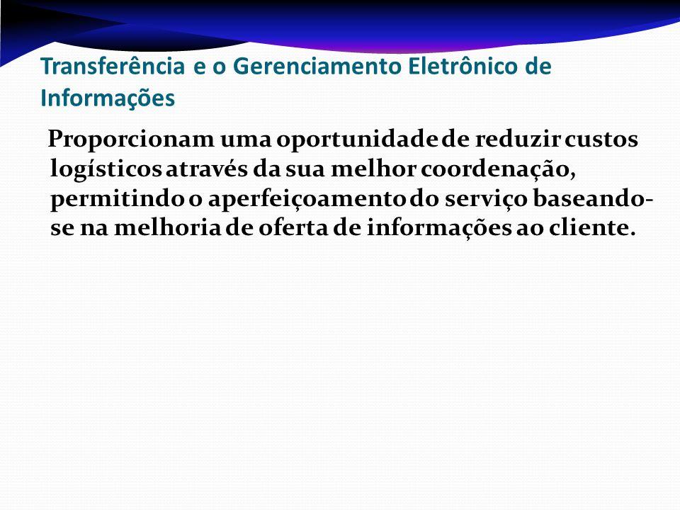 Transferência e o Gerenciamento Eletrônico de Informações