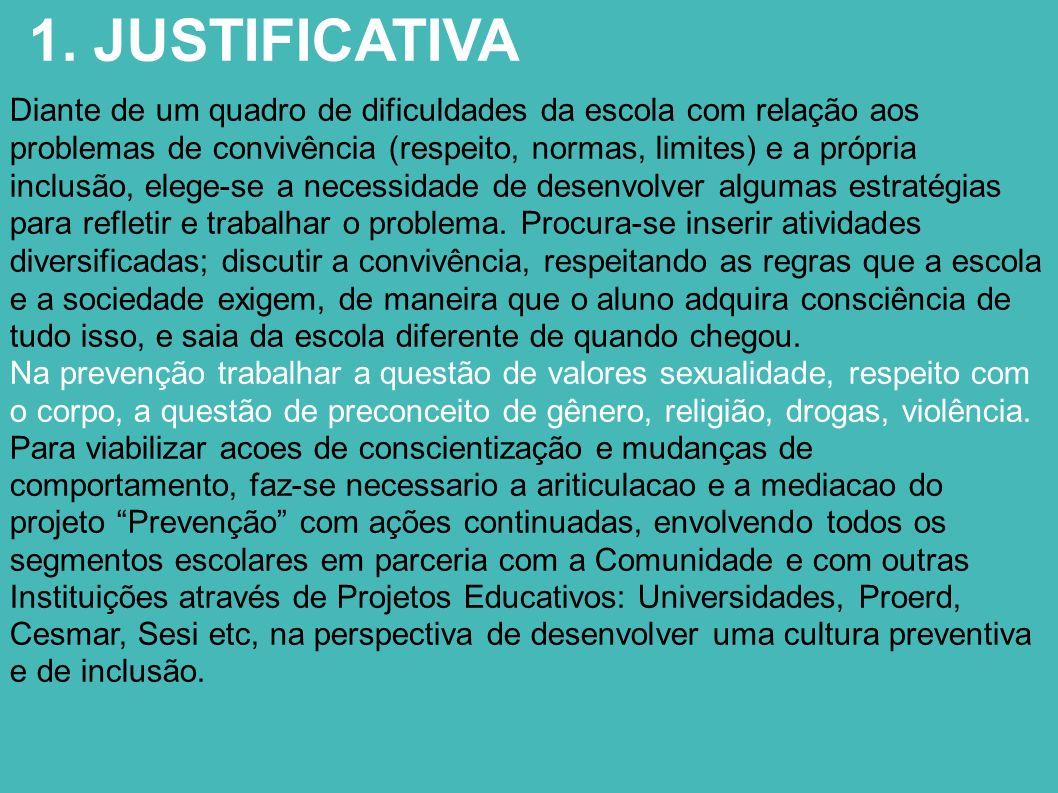 1. JUSTIFICATIVA