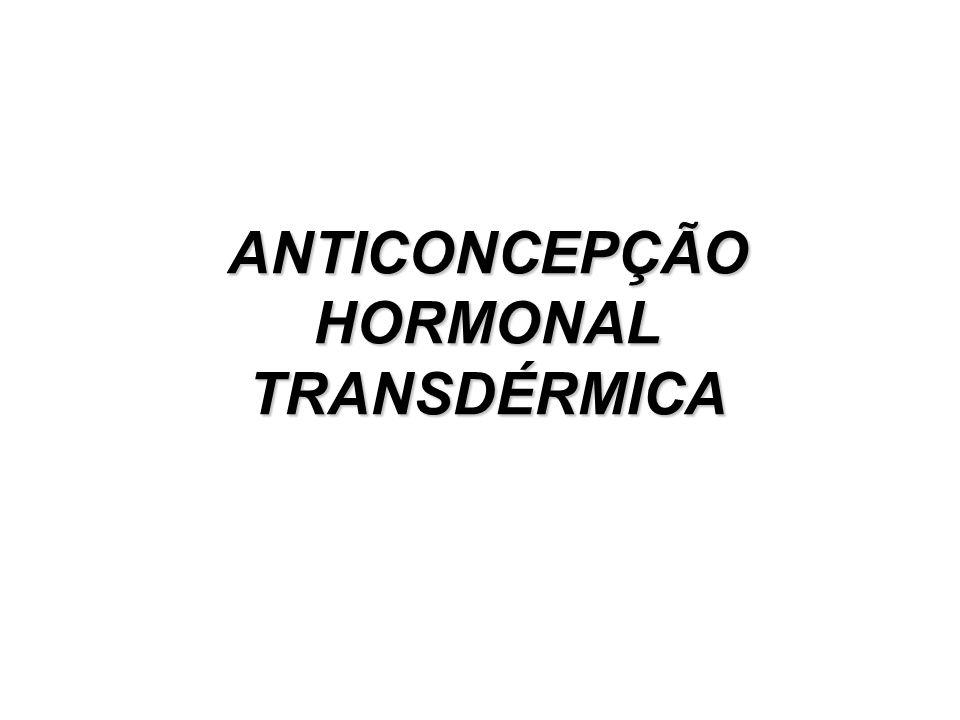 ANTICONCEPÇÃO HORMONAL TRANSDÉRMICA