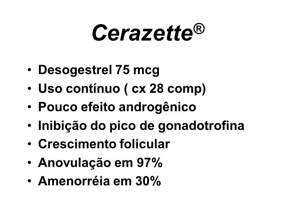 Cerazette® Desogestrel 75 mcg Uso contínuo ( cx 28 comp)