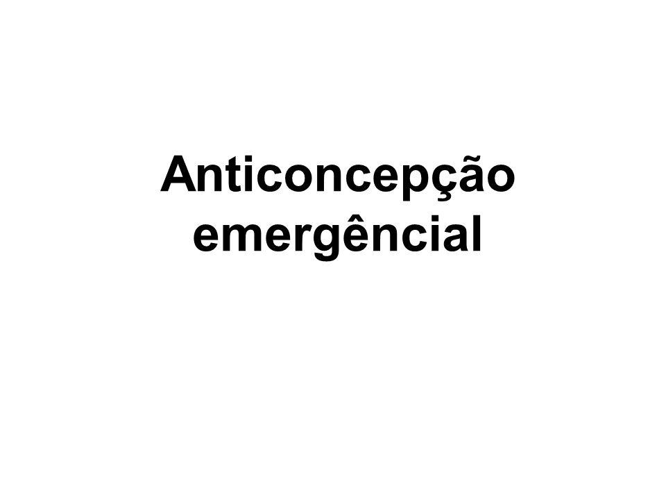 Anticoncepção emergêncial