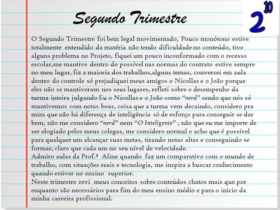 Segundo Trimestre