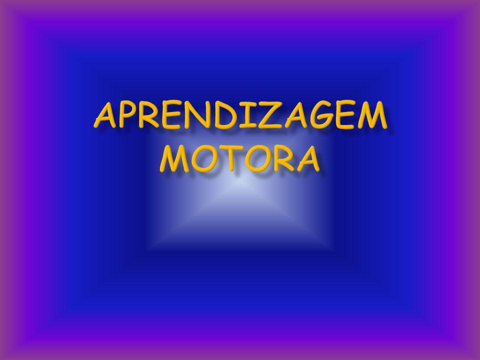 APRENDIZAGEM MOTORA