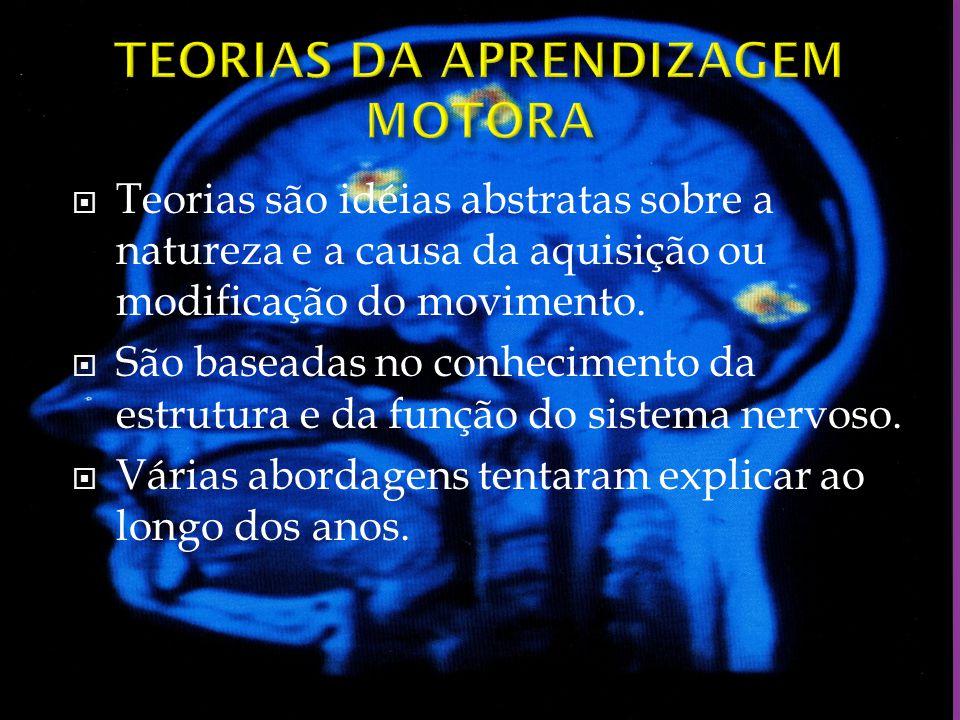 TEORIAS DA APRENDIZAGEM MOTORA
