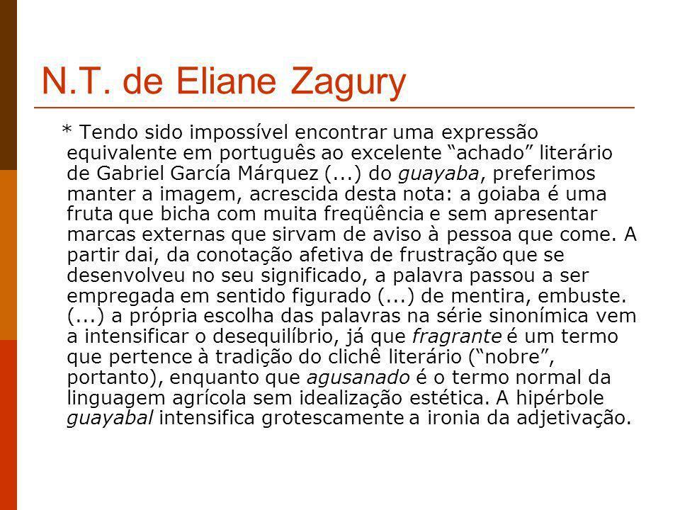 N.T. de Eliane Zagury
