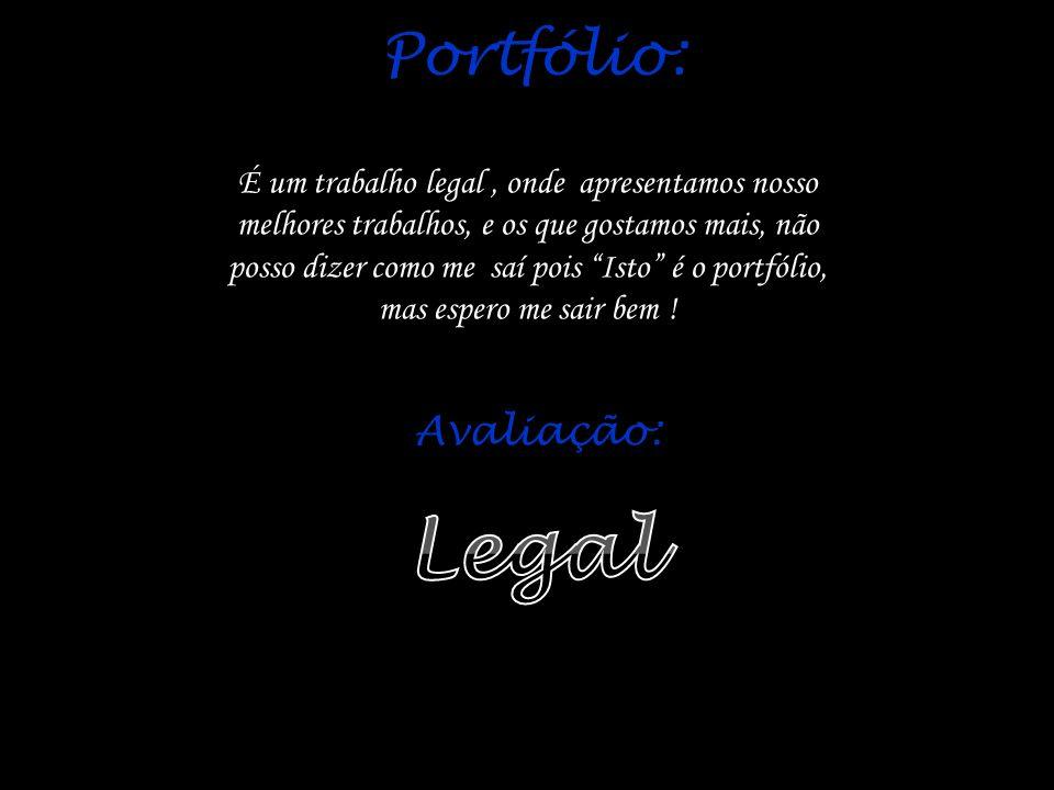 Legal Portfólio: Avaliação: