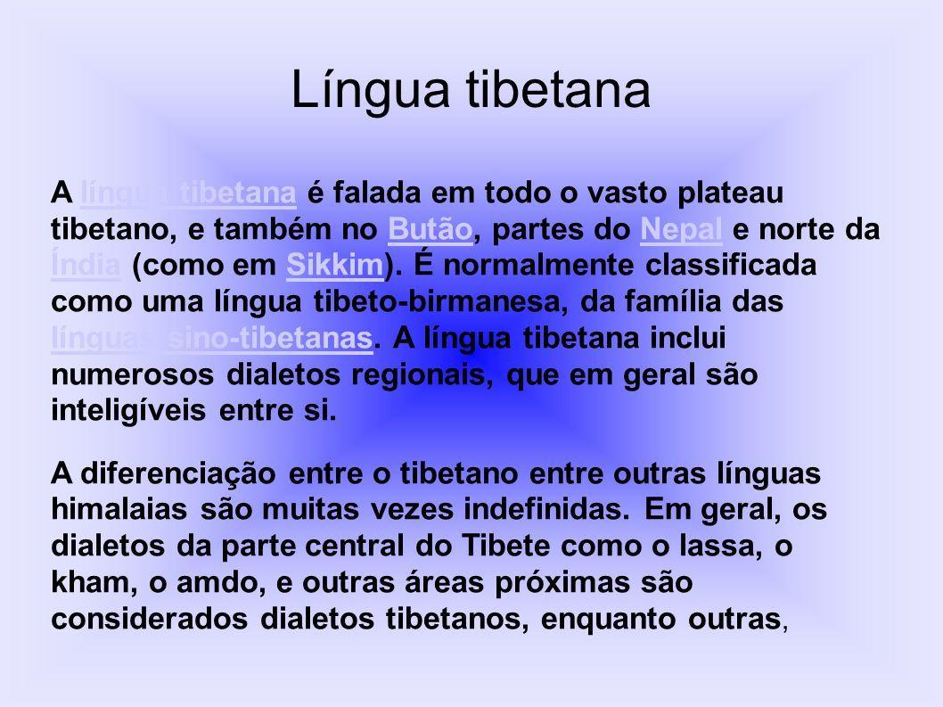 Língua tibetana